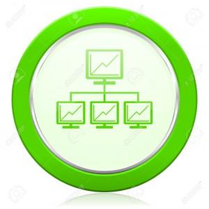 network icon lan sign